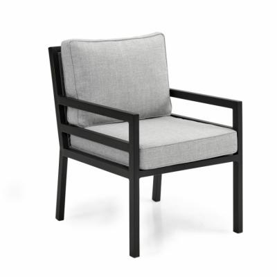 BERGERAC fotelis juodas