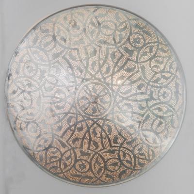Ceiling lamp Filigrain XL silver (diam.60 cm)