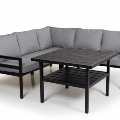 BERGERAC 3-iete sofa juoda