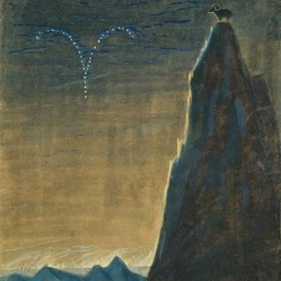 M. K. Čiurlionis Saulė eina Avino ženklu