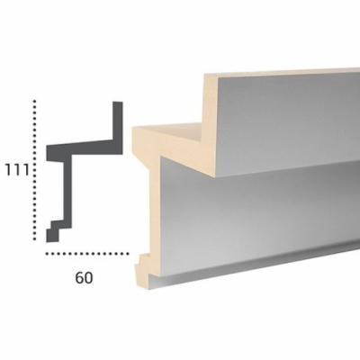 LED profilis KF705 (aukštis 111 mm)