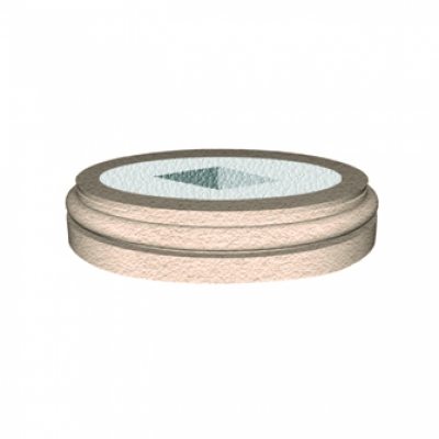 Bazė LC103-3 (diam.500 mm)