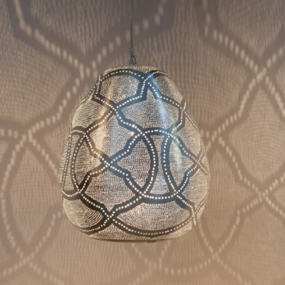 Tahrir Filigros LARGE silver (diam.40 cm)