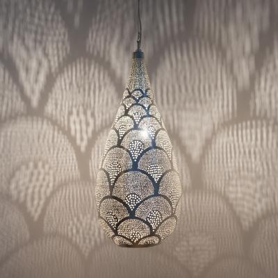 Elegance Fan LARGE silver (diam.34 cm)