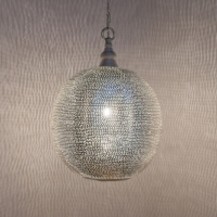 Ball Filisky MEDIUM silver (diam.27 cm)