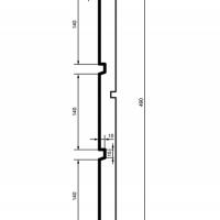 Panelė fasadui HC101-30