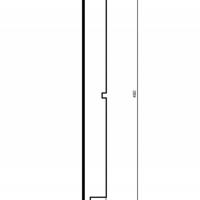 Panelė fasadui HC103-50