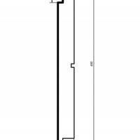 Panelė fasadui HC104-50