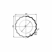 Puskolonė 1/2 LC105-21 (diam.305 mm)