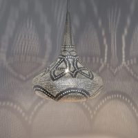 Sufi Filigros SMALL silver (diam.31 cm)