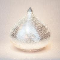 Table lamp Filisky LARGE silver (diam.30 cm)