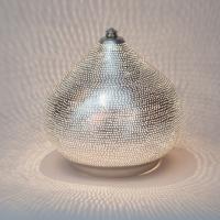 Table lamp Filisky SMALL silver (diam.21 cm)