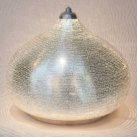 Table lamp Filisky XL silver (diam.36 cm)