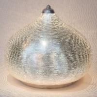 Table lamp Filisky XL silver (diam.36 cm)