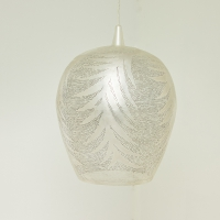 Tropic leaf LARGE silver (diam.40 cm)