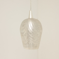 Tropic leaf MEDIUM silver (diam.30 cm)
