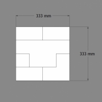 Dekoratyvinė plokštė Cubi W103