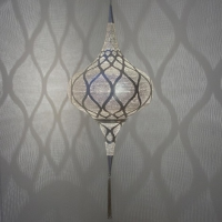 Grace LARGE moorish silver (diam.41 cm)
