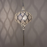 Grace MEDIUM moorish silver (diam.31 cm)