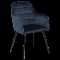 Kėdė EMBRACE BLUE VELVET